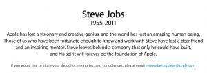Steve Jobs [1955-2011]