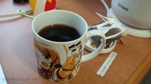 ホテルにてコーヒー
