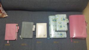 ほぼ日手帳、これまで