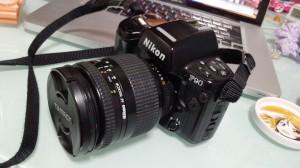 Niko F90+レンズ