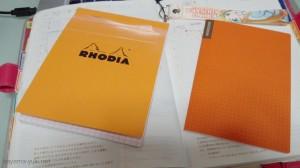 BLOCK RHODIA NO.13 vs ほぼ日のメモ帳