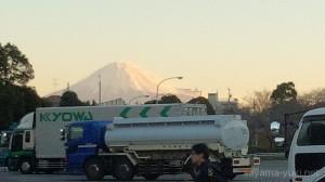日本平PAからの富士山